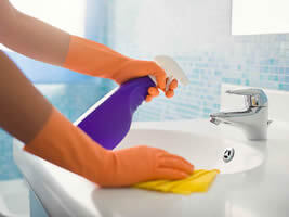 Bathroom Cleaning - Maids Service and House Cleaning Services Orange, CA